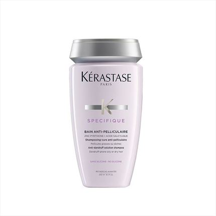SPECIFIQUE BAIN ANTI-PELL 250ml anticaspa grasa/seca KÉRASTASE