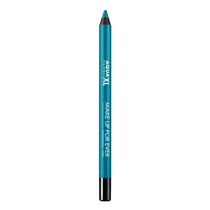 AQUA XL EYE Eye Pencil I-24 iridescent blue with green MUFE