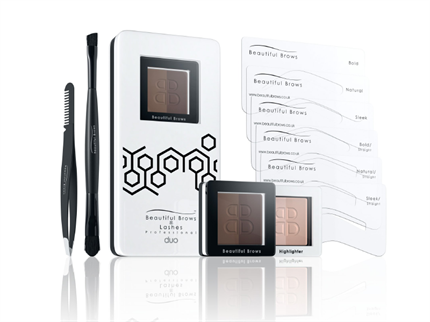 BB KIT DUO MAQUILLAJE CEJAS dark brown/chocolate