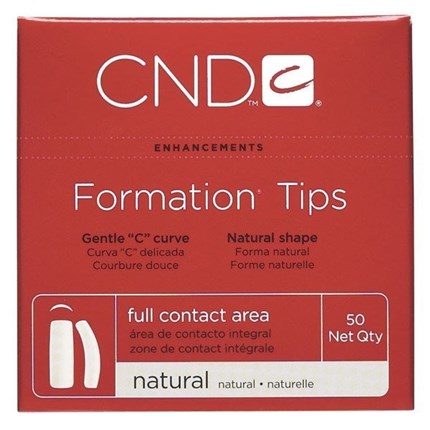 NATURAL FORMATION TIPS - caja de 360uds. CND