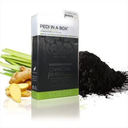 PEDI IN A BOX Pedicura en 4 Pasos - Charcoal