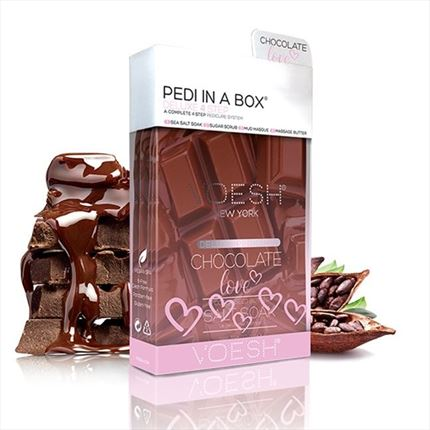 PEDI IN A BOX Pedicura en 4 Pasos- Chocolate Love